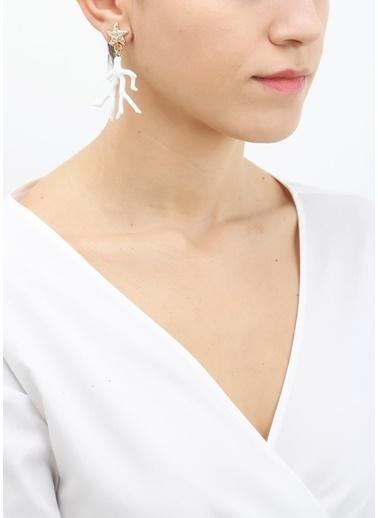 Polina Küpe Beyaz